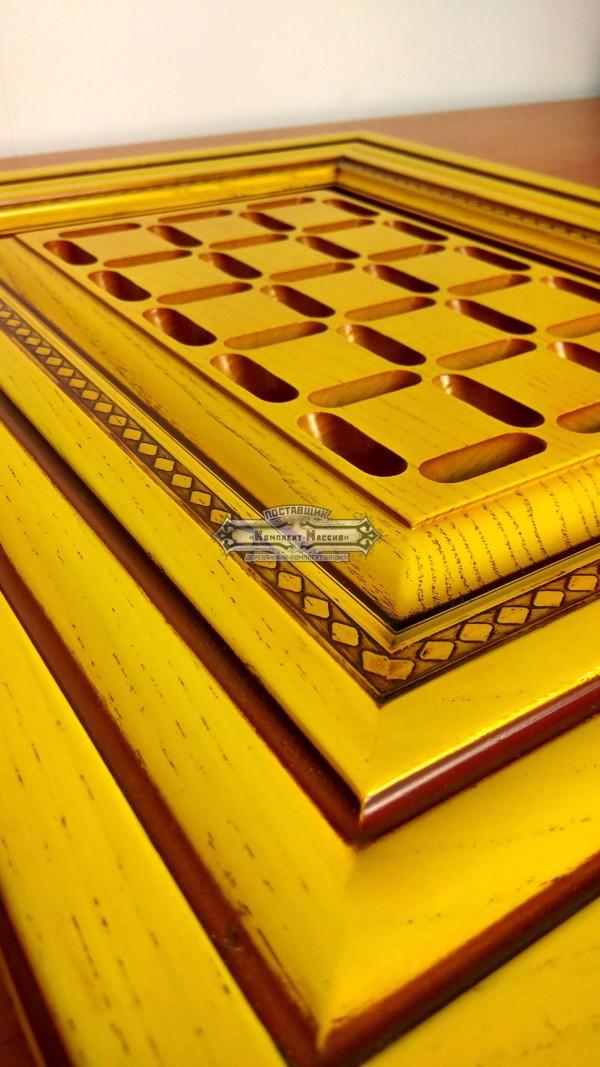 Желтые фасады для мебели