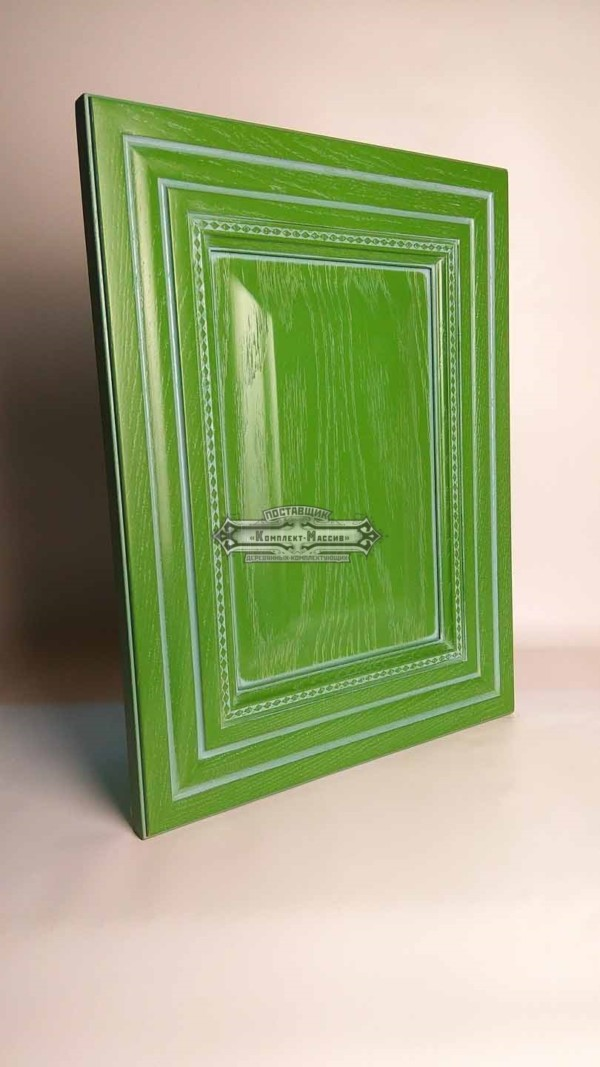 Зеленый фасад из массива
