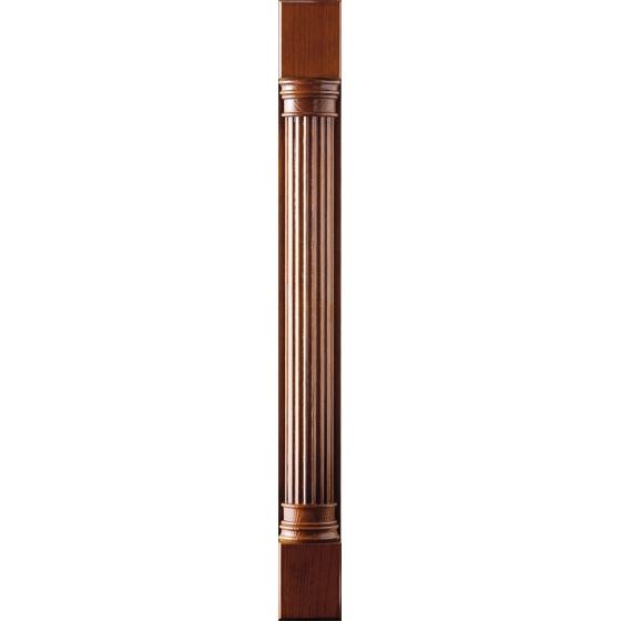 Колонка декоративная из дерева, Колонка пилястра