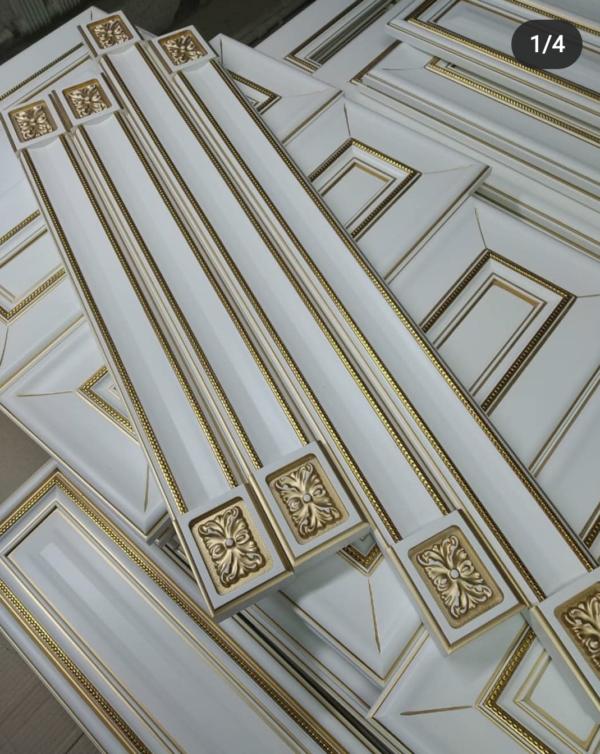 Декоры для кухонной мебели, Колонка классическая из массива