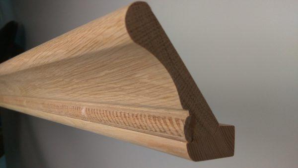 Карниз из массива, карниз мебельный, деревянный карниз