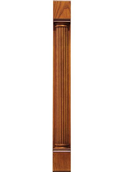 Деревянная колонка на шкаф, Колонка для кухонных шкафов