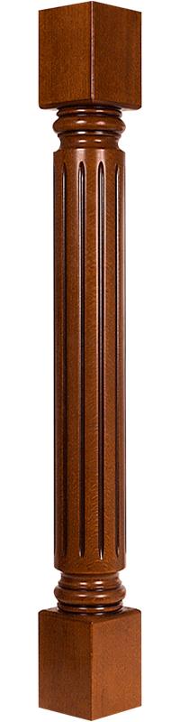 Колонна столб из массива