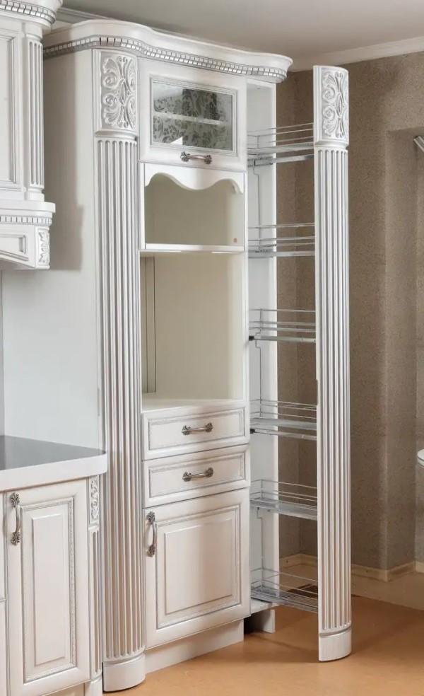 Высокие колоны для шкафа, колоны на шкаф массив