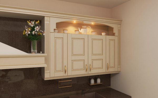Арка на кухонную мебель