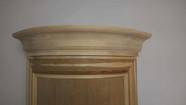 Радиусный карниз мебельный, гнутый карниз на кухню, мебельный радиусный карниз
