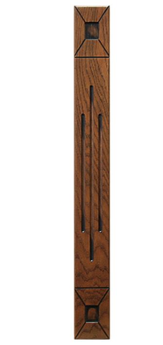Колонка резная для кухни, Колонка деревянная на заказ