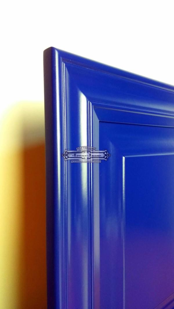 Синий мебельный фасад