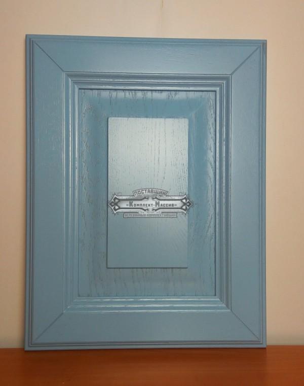 Фасады голубые для кухни