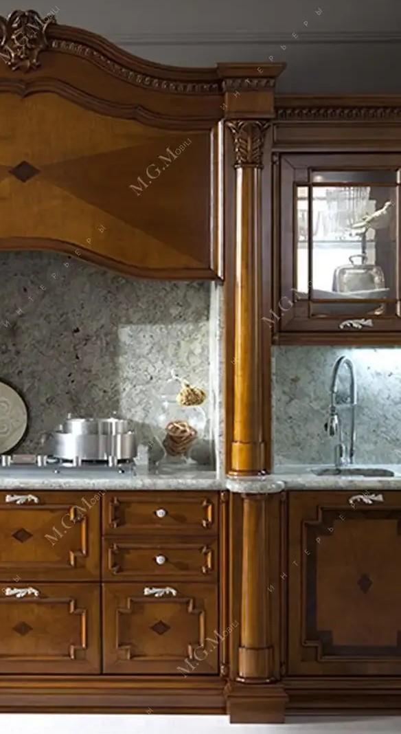 Колонна на кухню из массива