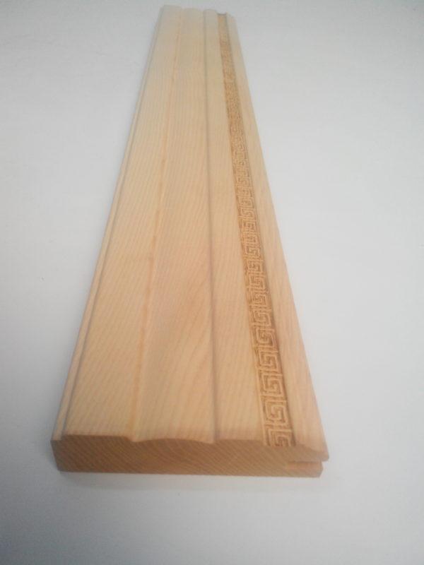 багетный профиль, погонаж из массива, фасады под сборку