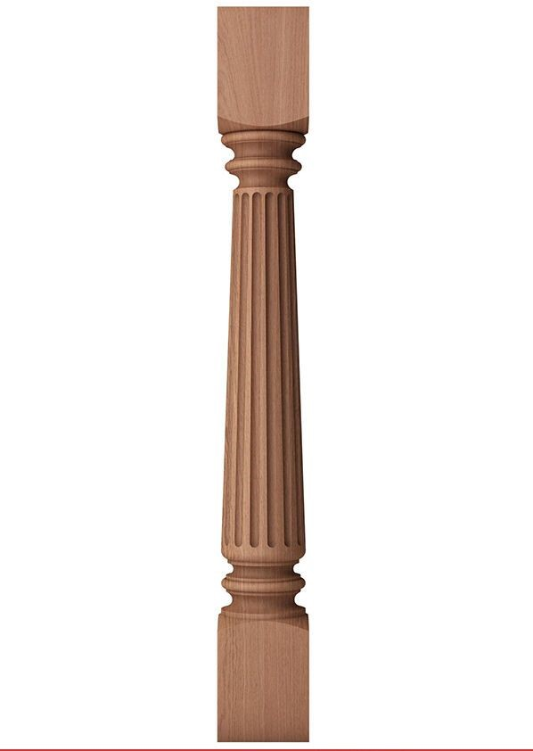 Деревянные колонны