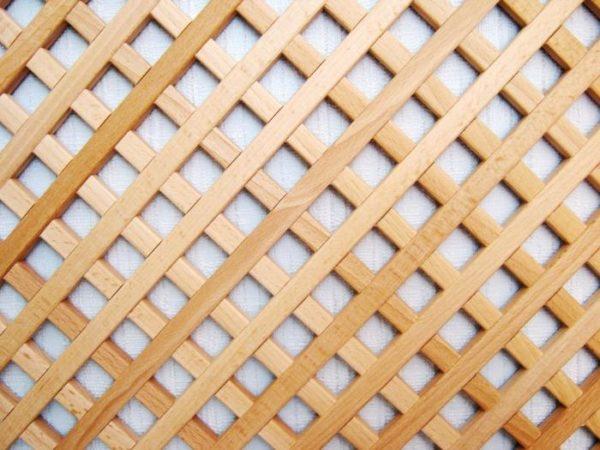 Мебельная решетка из дерева