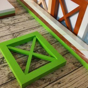 Рамка декоративная, рамка квадратная