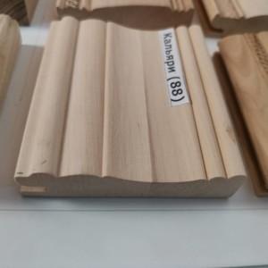 Профиль из дерева, обвяз фасадный