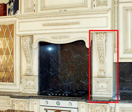 объемные порталы на кухне