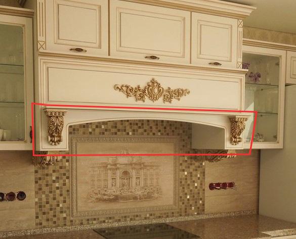 Кухонный портал декоративный