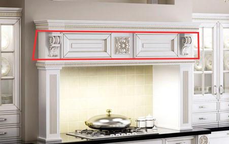Центральная панель кухонного портала