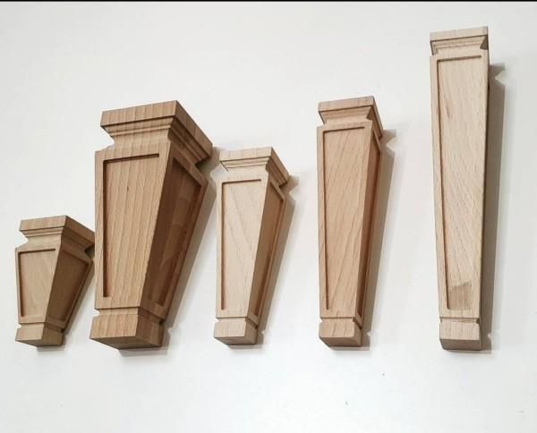 Точенные деревянные опоры