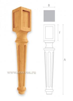Ножка резная на заказ
