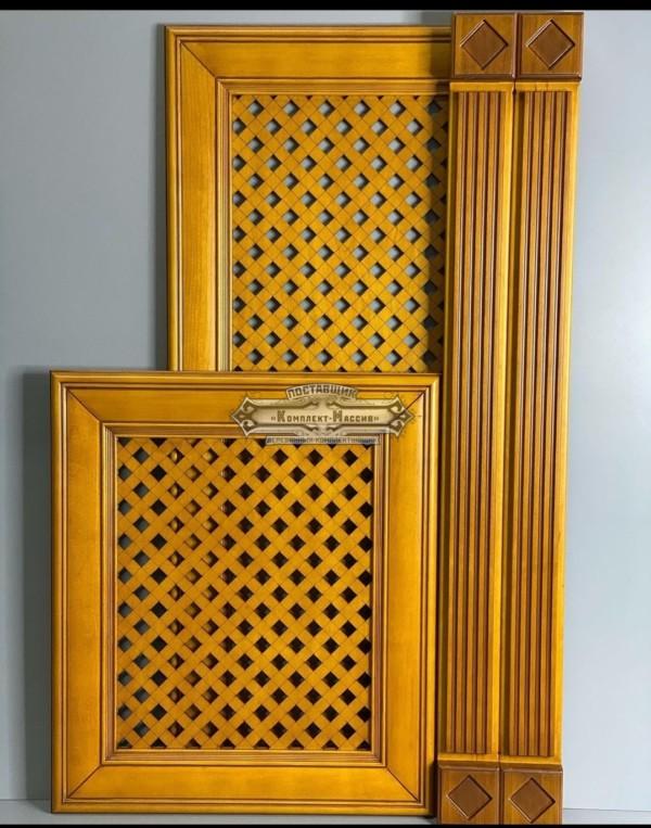 Желтые фасады для кухни
