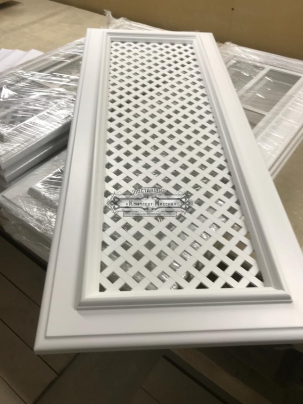 Кухонный фасад с решеткой